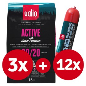 Bild på 3 x Valio Active + 12 x sika-nautamakkara