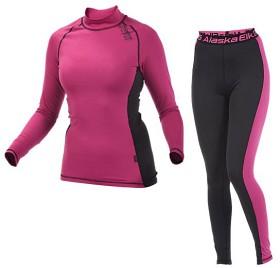 Bild på Alaska CoolDry 180 g -naisten aluskerrasto pinkki/musta