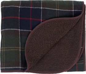 Bild på Barbour Medium Tartan Wool Dog Blanket Classic