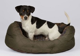 Bild på Barbour Quilted Dog Bed 24'' Olive