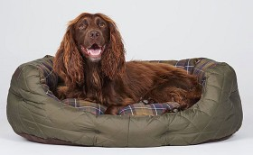 Bild på Barbour Quilted Dog Bed 30'' Olive