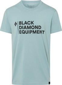 Bild på Black Diamond Stacked Logo Tee t-paita, vaaleansininen