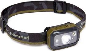 Bild på Black Diamond Revolt 350 -otsalamppu, musta/oliivinvihreä