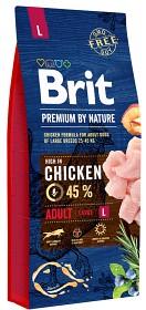 Bild på Brit Premium by Nature Adult L 15 kg