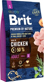 Bild på Brit Premium by Nature Adult S 8 kg
