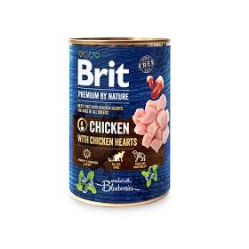Bild på Brit Premium by Nature kana-sydän 400 g