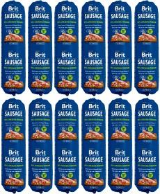 Bild på Brit Premium Koiranmakkara Chicken & Venison 12 x 800 g