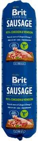 Bild på Brit Premium kana-riista -koiranmakkara 800 g