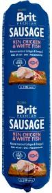 Bild på Brit Premium Chicken & White Fish -koiranmakkara 800 g