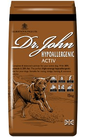 Bild på Dr. John Hypoallergenic Activ 15 kg
