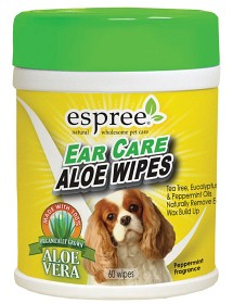 Bild på Espree Ear Care Aloe Wipes 60 kpl