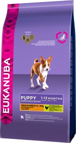 Bild på Eukanuba Puppy & Junior Medium Breed 3 kg