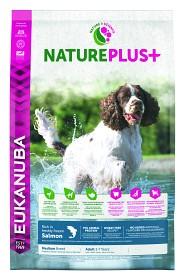 Bild på Eukanuba Nature Plus+ Adult Medium Breed Salmon 14 kg