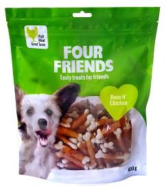 Bild på Four Friends Koiranherkku Bone N Chicken 400 g