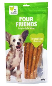 Bild på Four Friends Twisted Stick Chicken 12,5 cm 4 kpl