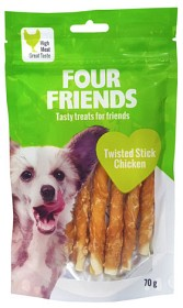 Bild på Four Friends Twisted Stick Chicken 12,5 cm 7kpl