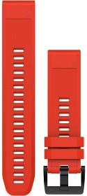 Bild på Garmin QuickFit 22 mm Armband Röd Silikon