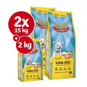 Bild på Hau-Hau Champion Kana-riisi 2 x 15 kg + 2 kg