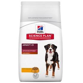 Bild på Hills Canine Science Plan Adult Advanced Fitness Large Breed with Chicken 12 kg