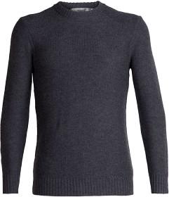 Bild på Icebreaker M's Waypoint Crewe Sweater Charcoal Hthr