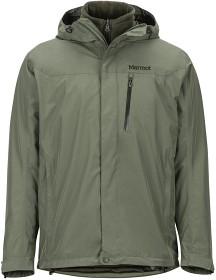 Bild på Marmot M's Ramble Component 3-in-1 Jacket kuoritakki/fleecetakki, harmaa/vihreä