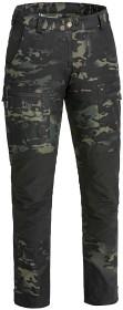 Bild på Pinewood Caribou TC -naisten housut, musta/camo