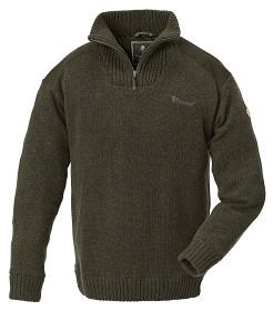 Bild på Pinewood M's Hurricane Sweater D. Green Melange