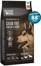 Bild på PrimaDog Grain Free Venison & Turkey 10 kg