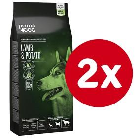 Bild på PrimaDog Lamb & Potato 10 kg x 2