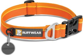 Bild på RuffWear Hoopie Collar Solid Orange Sunset