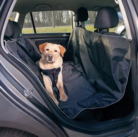 Bild på Trixie -auton takapenkinsuoja, 145 x 160 cm musta