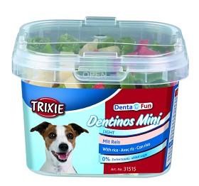 Bild på Trixie Denta Fun Dentinos mini -koiranherkut, 140g