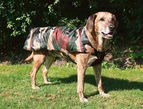 Bild på Trixie -maastokuvioinen koirantakki, 80 cm