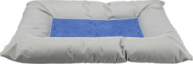 Bild på Trixie -viilentävä koiranpeti 90 x 55 cm vaaleanharmaa/sininen