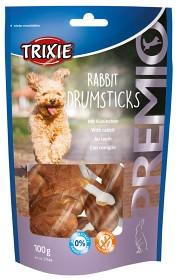 Bild på Trixie Premio Rabbit Drumsticks -kaniherkut, 8 kpl/100 g