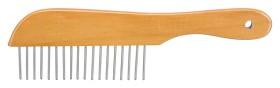 Bild på Trixie -puuvartinen takkukampa, 22 cm