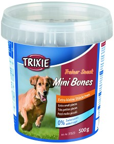 Bild på Trixie Trainer Snack Mini Bones -koiranherkku, 500 g