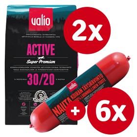 Bild på Valio Active -tuotepaketti nautamakkaralla