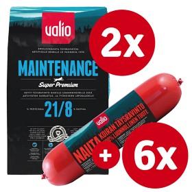 Bild på Valio Maintenance -tuotepaketti nautamakkaralla