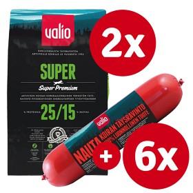 Bild på Valio Super -tuotepaketti nautamakkaralla